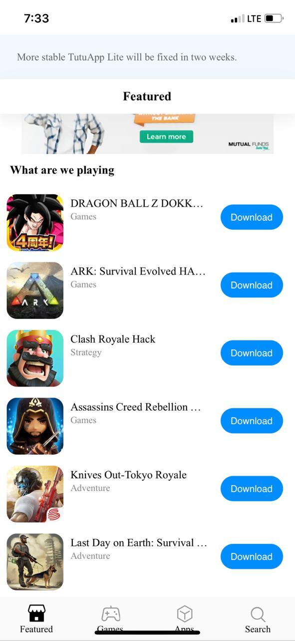 TuTuApp Lite | Download TuTuApp Lite App on iOS(iPhone/iPad
