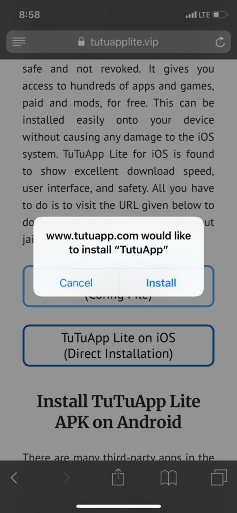 TuTuApp Lite | Download TuTuApp Lite App on iOS(iPhone/iPad) (LATEST)